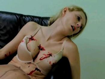 pantyhose strangled