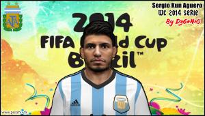 Download Sergio Kun Aguero Face By DzGeNiO