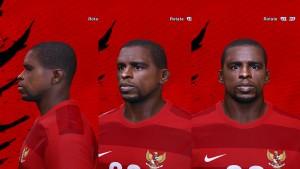 Download Greg Nwokolo [Persebaya Surabaya] PES 14 Face
