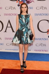 Zoey Deutch - 2014 CFDA Fashion Awards in NYC 6/2/14