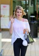 Emma Roberts - Leaving a yoga class 6/02/14