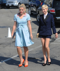 Busy Phillips and Michelle Williams @ 27th Annual Independent Spirit Awards
