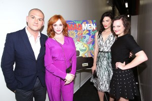 Christina Hendricks and Elisabeth Moss – AwardslineDeadline Screening Of Mad Men June 3,