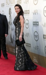 Catherine Zeta Jones - AFI Life Achievement Awards in Hollywood 6/5/14