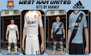 West Ham United 2014/2015 Kits By AGAMSF