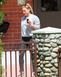 Hilary Duff - At the park in Beverly Hills 6/6/14