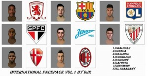 FIFA14 International Facepack vol.1 - Release by DJr
