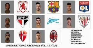 FIFA14 International Facepack vol.1 - Release by DJr