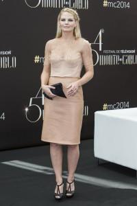 Jennifer Morrison at the 54th Monte Carlo TV Festival photocall in Monaco on June 9, 2014