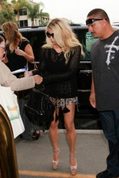 Jessica Simpson - At LAX Airport 6/10/14