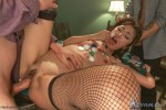 Japanese fuck-toy gets her tiny holes stuffed with American cock - Kink/ HardcoreGangBang (2014/ SiteRip)