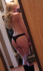 Jennette McCurdy in a Thong