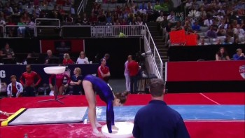 McKAYLA MARONEY - NASTIA LIUKIN - 2012 US Olympic Trials