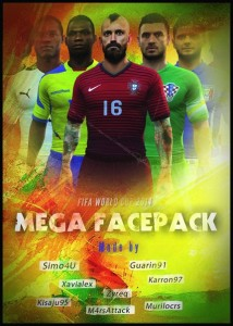 FIFA WORLD CUP MEGA FACEPACK FIFA 14