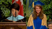 Amanda Tapping receives honorary Doctor of Laws degree, University of Windsor 12.6.2014