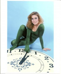 Dana Plato: Sexy In Green Bodysuit - HQ x 1