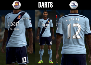 Download West Ham 2014-2015 Kits by DARTS