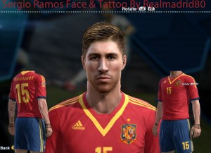 Download PES 2013 Sergio Ramos face