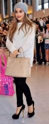 Ariana Grande - At Narita International Airport in Tokyo 6/17/14