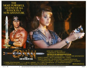 Конан Разрушитель / Conan the Destroyer (Арнольд Шварцнеггер, 1984) Eec581333901953