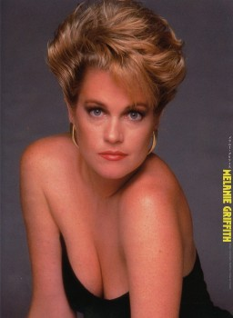 Melanie Griffith: Sexy 80's Pic With Mega Cleavage: HQ x 1
