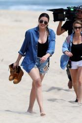 Khloe Kardashian - At Indian Wells Beach in Easthampton, NY 6/18/14