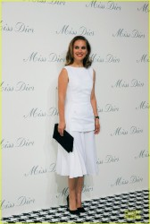 Natalie Portman - Miss Dior Exhibition in Shanghai 6/19/14