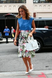 Jessica Alba - Out & About in NYC 6/19/14