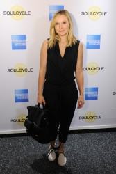 Kristen Bell - SoulCycle ride in Grand Central event in NYC 6/20/14