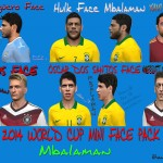 PES2014 World Cup Mini Face Pack v.1