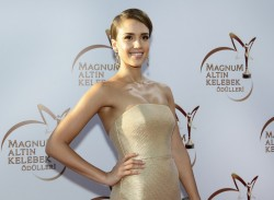 Jessica Alba - Magnum Golden Butterfly Awards in Istanbul 6/22/14