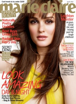 Leighton Meester Marie Claire April '12 HQ