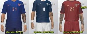 PES World Cup mini facepack by kpt1