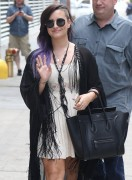 Demi Lovato - Leaving her hotel in NYC 6/24/14