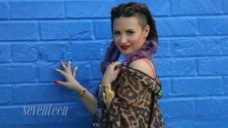 Demi Lovato - Girl Power Tag Seventeen Magazine Behind The Scenes Ep 1 July 2014 1080p