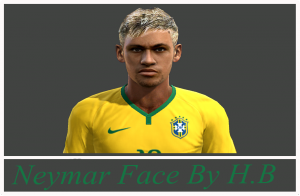 Download Neymar Face and Hair Pes 2013 By H.B