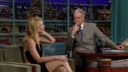Claire Danes on Letterman January 20, 2010