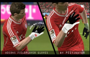 PES 2014 Adidas Fieldplayer Gloves by PEStinatoR