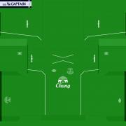 Everton 14-15 Kits PES 2014