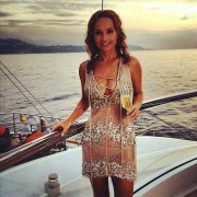 Giada De Laurentiis - Sheer Dress