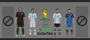 Download Argentina WC 2014 Kits by Wuguernalt
