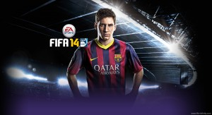 FIFA14 Messi New Splash by Reza7