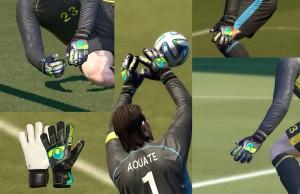 Download PES 2014 Uhlsport Pro Fangmaschine 14 Gloves by sunbast