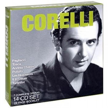 Franco Corelli - Legendary Performances (14CD Box Set) (2007) [LOSSLESS]