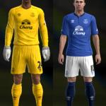 PES2013 Everton 2014-15 Kits by Ram'z