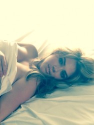 Kate Upton in Bed - 6/30/14