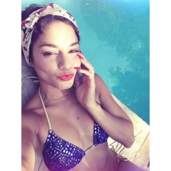 Vanessa Hudgens in a Bikini - July 4, 2014