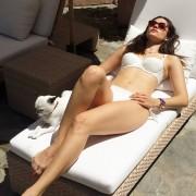 Emmy Rossum - Instagram bikini - 7/4/14