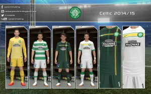 Download PES 2014 Celtic 2014/15 GDB by Nemanja - UPDATE