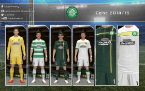 Download PES 2014 Celtic 2014/15 GDB by Nemanja - UPDATE